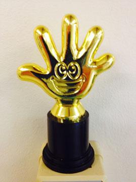 photo of highfive award