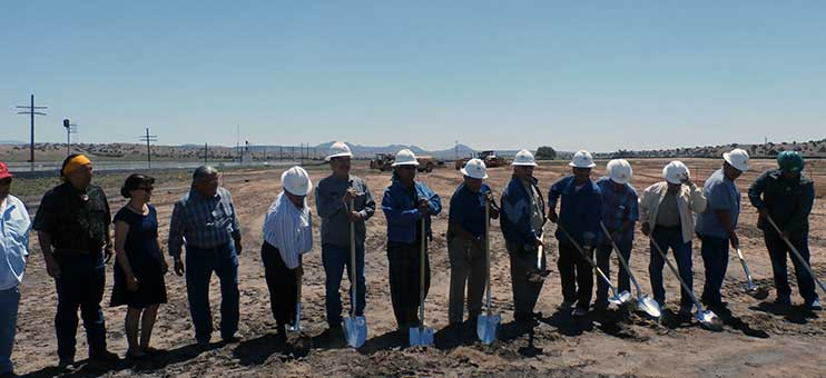 Santo Domingo Tribal Housing Auth. groundbreaking