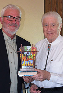 RCAC CEO and Don Pfau, award recipient.