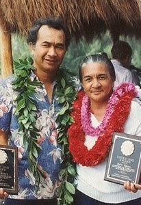 Gilbert Kahele and Julia Kaupu
