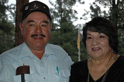 Anita and her husband Donald.