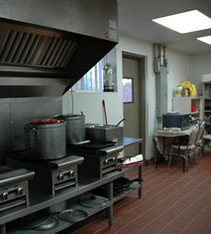 Chepo's kitchen appliances.