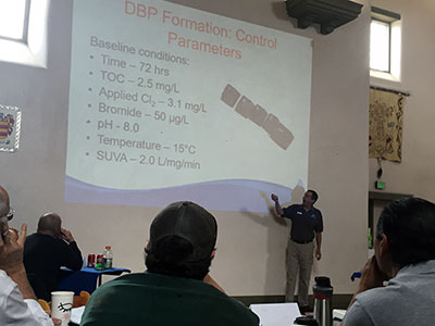 RCAC and AWWA team up to provide water system training in the rural