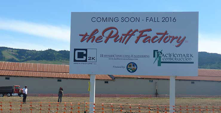 Puff Factory signage