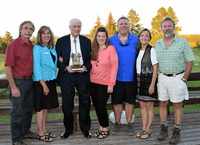 Don Pfau and family.