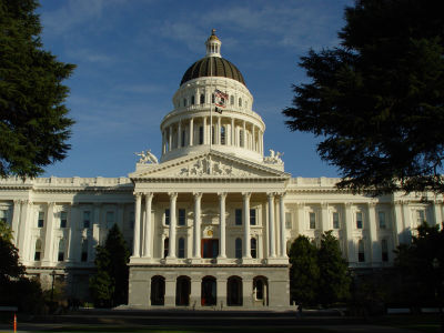 Sacramento Capitol, Photo by Franco Folini, creative commons