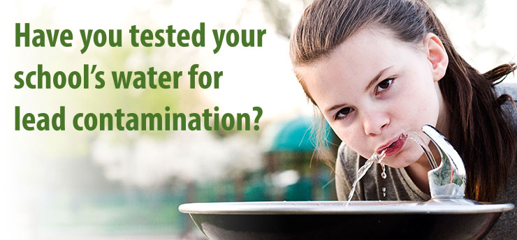 Have you tested your school's water for lead contamination?