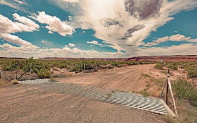 Navajo Nation dirt road