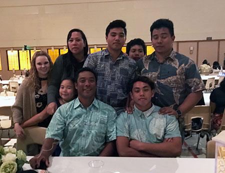 The Kiyuna Family