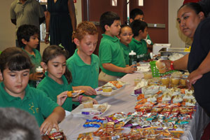 Summer meals for low-income families in rural areas.
