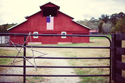barn in rural America