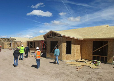 Box canyon homes under construction