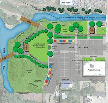 Lewistown, MT site plan