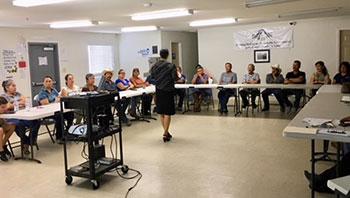 ROC training class