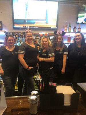 OverTime Bar & Grill staff.