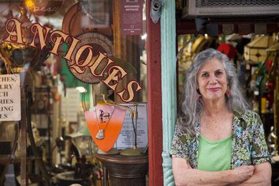 Antique shop - small business