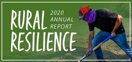 RCAC 2020 Annual Report - Rural Resilience