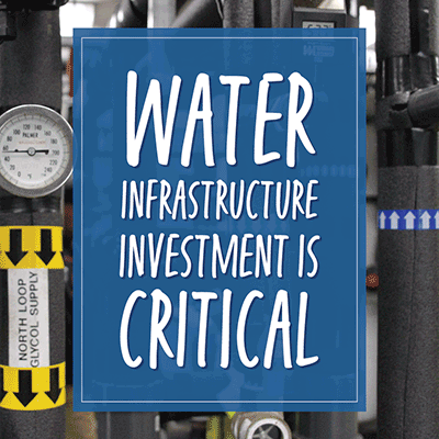 water infrastructure investment is critical